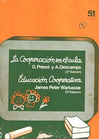 La cooperación en el aula . Educación cooperativa
