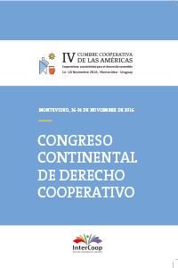 I Congreso Continental de Derecho Cooperativo
