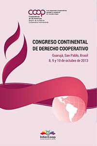 Congreso Continental de Derecho Cooperativo - Guarujá, San Pablo, Brasil