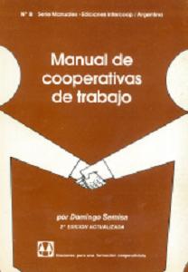 Manual de cooperativas de trabajo