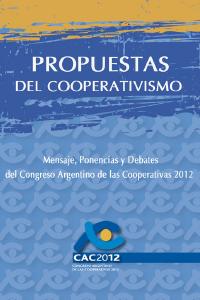 Propuestas del cooperativismo
